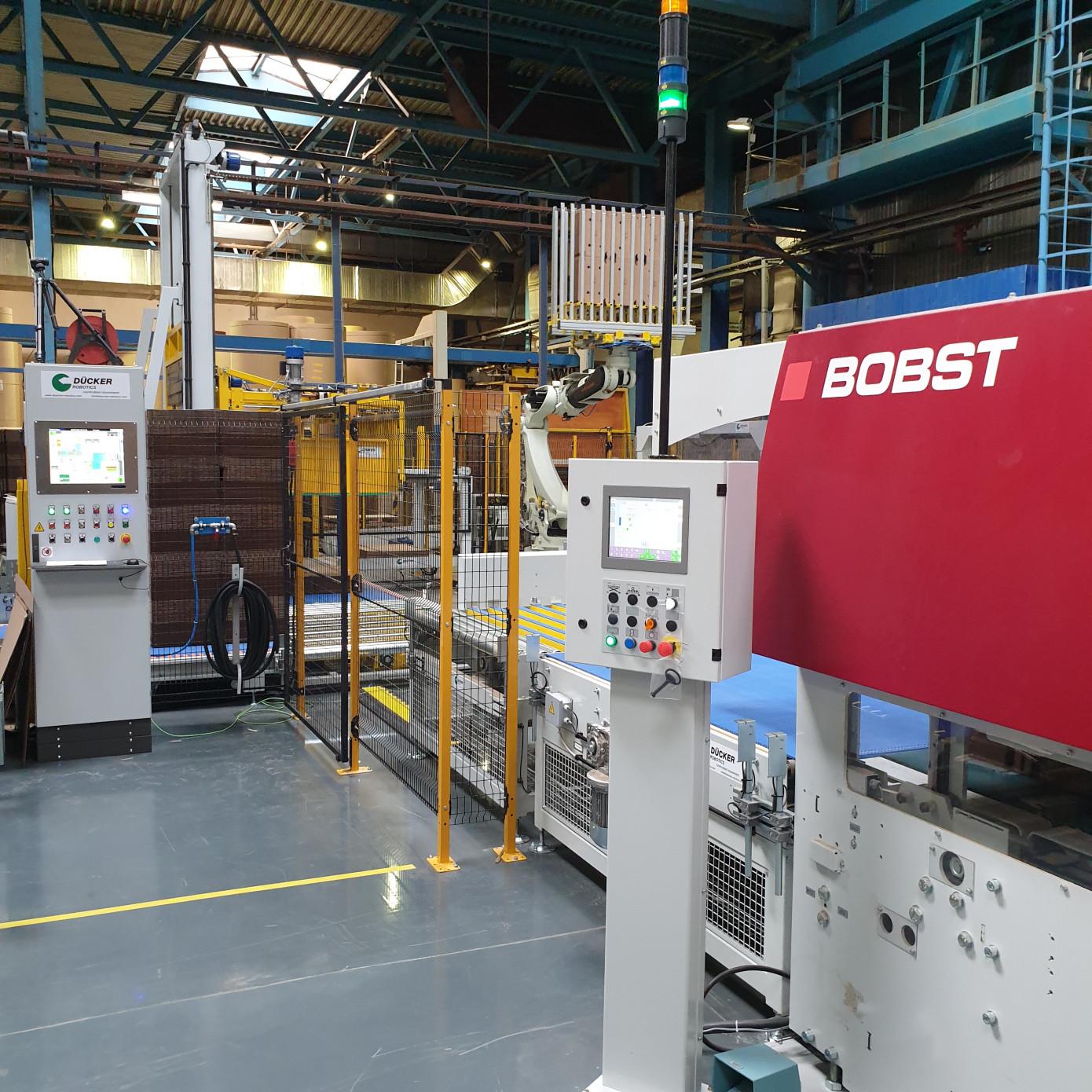В Подольском филиале «Архбум» начата промышленная эксплуатация второй линии BOBST