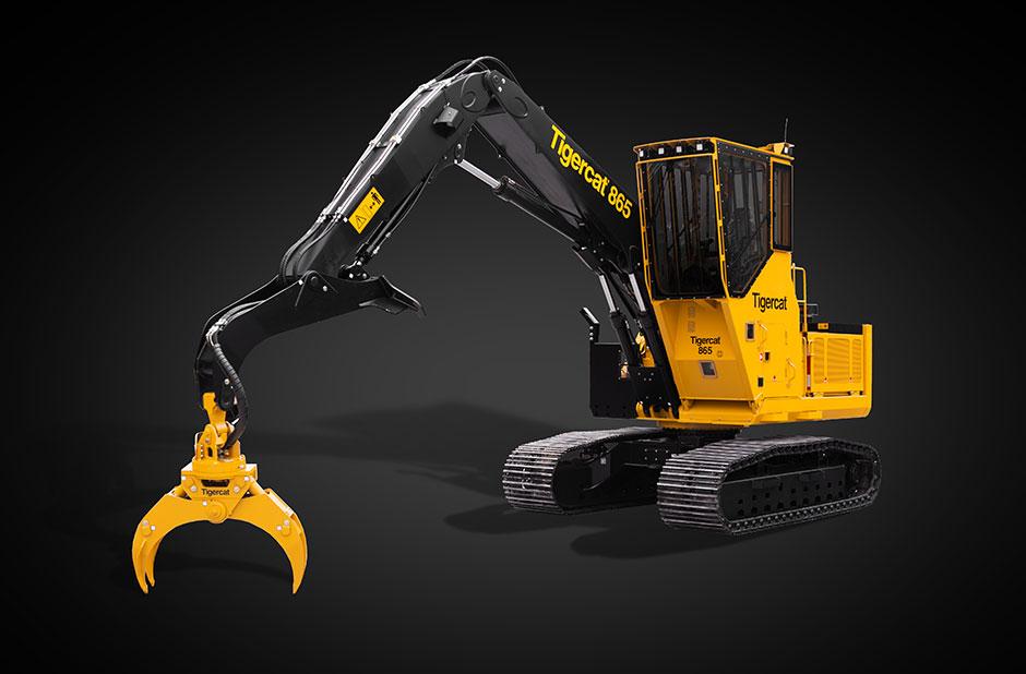 Tigercat introduces 865 logger