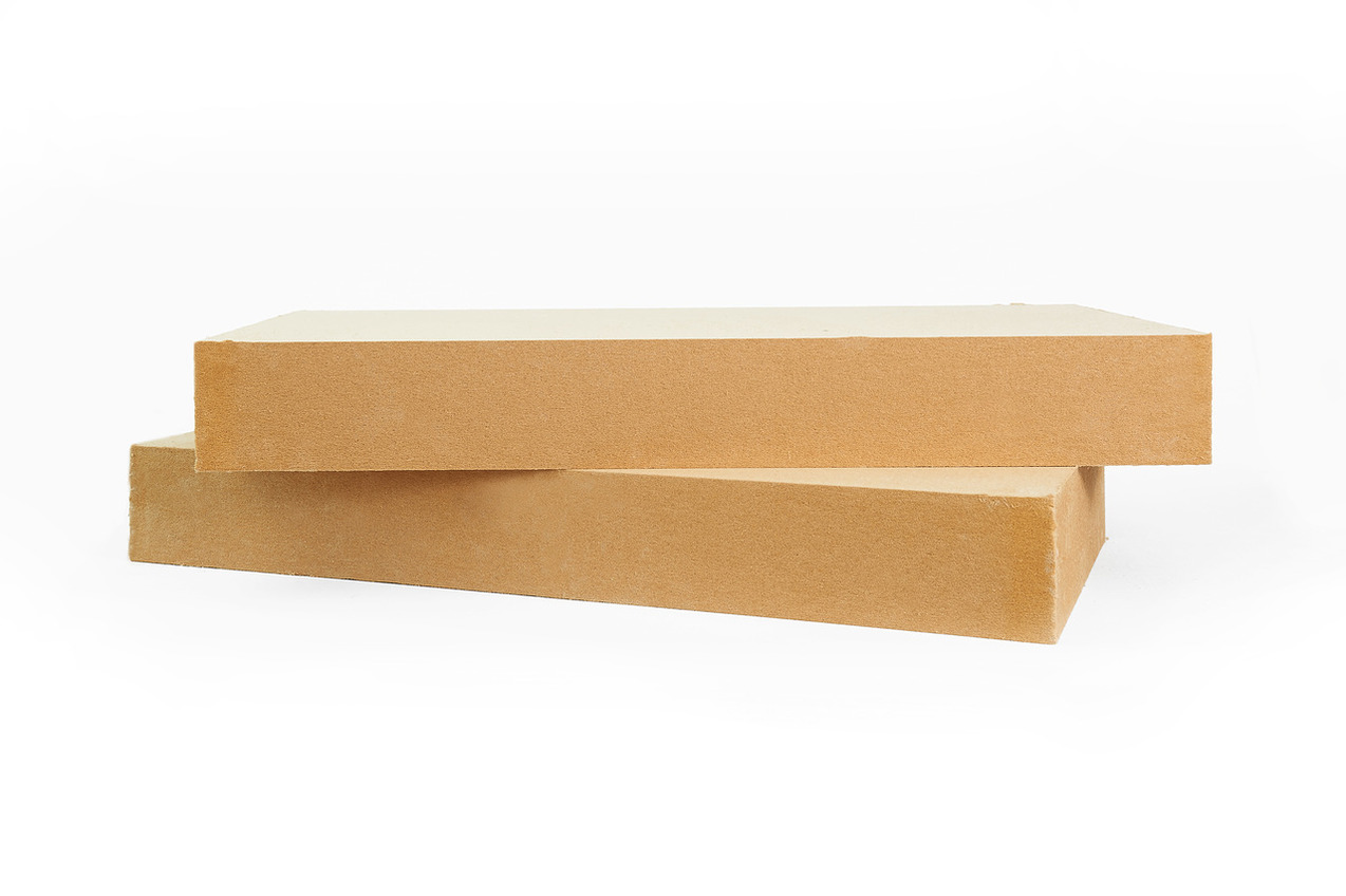 Insulation boards made of wood fiber