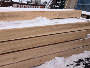 100 mm x 100 mm x 3100 mm GR  Oak Beam