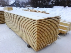 Eaves board 29*95*3600 mm