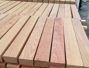 22 mm x 35 mm x 5000 mm KD ACQ Treated Oak Lumber