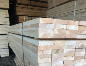 40 mm x 90 mm x 3000 mm KD S4S Heat Treated Scots Pine Lumber