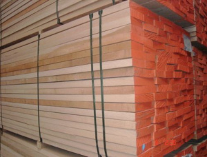 50 mm x 150 mm x 2100 mm KD S4S Heat Treated Beech Lumber