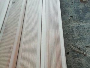 Siberian Larch Anti-slip decking 27 mm x 143 mm x 2000 mm