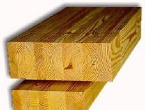 Glued laminated beam KD Pine 100 mm x 72 mm x 6000 mm