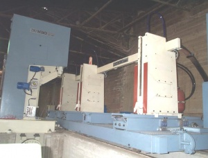 Slab cutting saws Dumbo