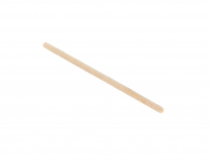 Straight Birch Wooden Drink Stirrers 125 mm x 9.6 mm x 1.4 mm