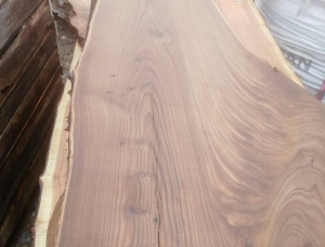 50 mm x 150 mm x 3000 mm Elm Flitch