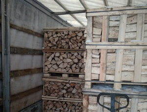 Oak Firewood cleaved 250 mm x 50 mm