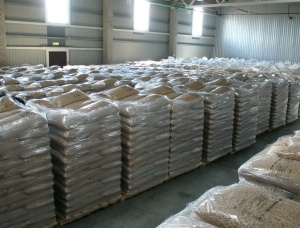 Brown Ash Wood pellets 6 mm x 40 mm