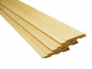 KD Scots Pine Tongue & Groove Paneling 12 mm x 96 mm x 3000 mm