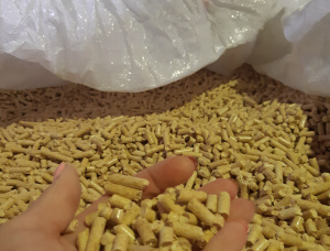European spruce Wood pellets 6 mm x 8000 mm