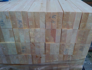 Scots Pine Glued window scantlings 82 mm x 86 mm x 6000 mm