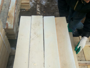 25 mm x 110 mm x 1250 mm GR R/S  Birch Lumber