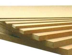 Water-resistant plywood 10 mm x 125 mm x 2500 mm