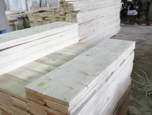 20 mm x 200 mm x 2200 mm KD S4S Heat Treated European spruce Lumber