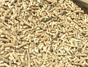Siberian spruce Wood pellets 6 mm x 30 mm