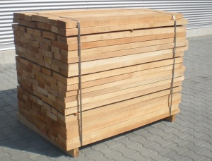 26 mm x 97 mm x 5000 mm KD S4S Heat Treated Brown Ash Lumber
