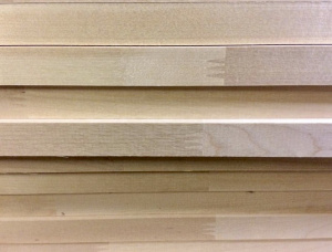 Birch Finger Jointed (Discontinuous stave) Furniture panel 20 mm x 1200 mm x 3000 mm