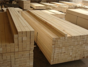 LVL Pine Lumber for H20 Beam 3 mm x 120 mm x 1200 mm