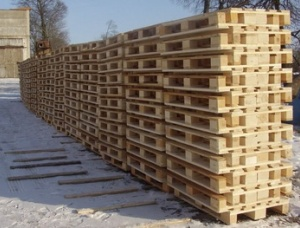 SPF Pallets elements 22 mm x 100 mm x 1050 mm
