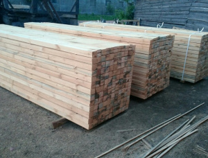 36 mm x 86 mm x 3985 mm AD  Scots Pine Post