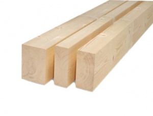Structural timber, finger joined timber (KVH) 120 mm x 120 mm x 13 m