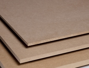 High density fibreboard (HDF) 18 mm x 1220 mm x 2440 mm