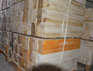 European silver fir Pallet timber 45 mm x 800 mm x 1200 mm