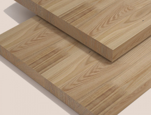 Oak Furniture panel 40 mm x 400 mm x 3500 mm