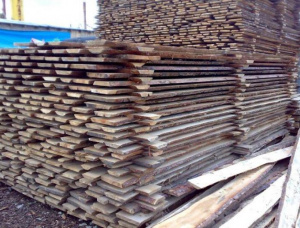 50 mm x 500 mm x 3000 mm Elm Flitch