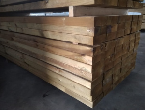 58 mm x 168 mm x 5985 mm KD S4S Pressure Treated Scots Pine Lumber