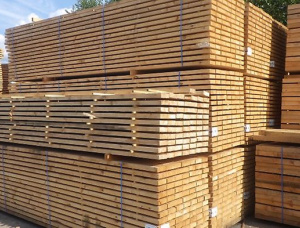 50 mm x 150 mm x 6000 mm KD S4S Heat Treated Spruce-Pine-Fir (SPF) Lumber