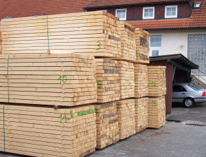 European spruce Pallet timber 80 mm x 100 mm x 3000 mm