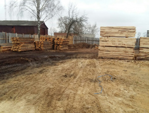 36 mm x 86 mm x 2985 mm AD S4S Heat Treated Scots Pine Lumber