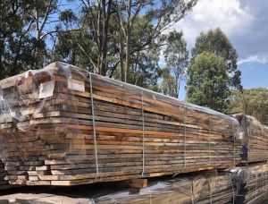 42 mm x 150 mm x 5400 mm Ironbark Flitch