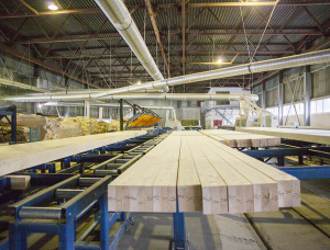 Straight Glulam Beam European spruce 180 mm x 210 mm x 13.5 m