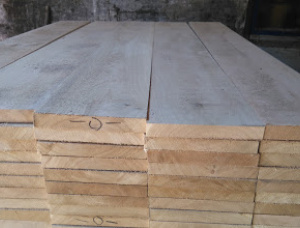 30 mm x 150 mm x 3000 mm Oak Flitch