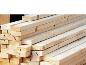 16 mm x 96 mm x 3000 mm KD S4S Heat Treated Scots Pine Lumber