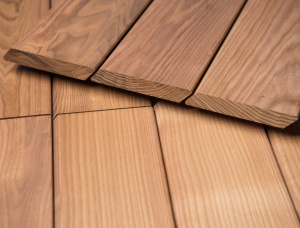 KD Brown Ash Wooden Cladding 20 mm x 120 mm x 2500 mm