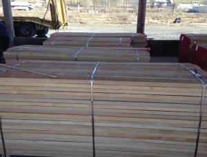 25 mm x 150 mm x 5000 mm KD S1S1E Heat Treated Beech Lumber