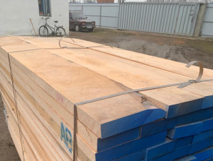 50 mm x 120 mm x 2000 mm KD S4S Heat Treated Beech Lumber