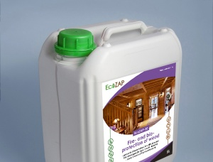 EcoZAP-30  Fire - and bio-protection of wood