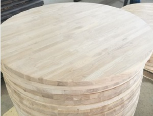 Oak Solid Wood Table Top 19 mm x 600 mm x 600 mm