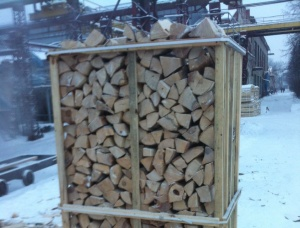 Birch Firewood cleaved 250 mm x 100 mm