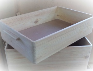 Universal Household Pine Crates FSC 150 mm x 200 mm x 300 mm