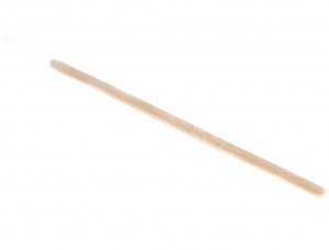 Straight Birch Wooden Drink Stirrers 140 mm x 6 mm x 1.8 mm