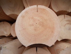 Rounded logs 280 mm x 6 mm