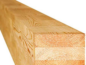 Joined with glue Beam KD Pine 115 mm x 72 mm x 6 m